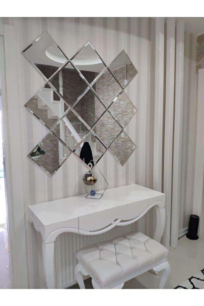 Dekoratif Ayna Bizoteli Parçalı Ayna Gerçek Ayna Dresuar Aynası Konsol Aynası Baklava Ayna