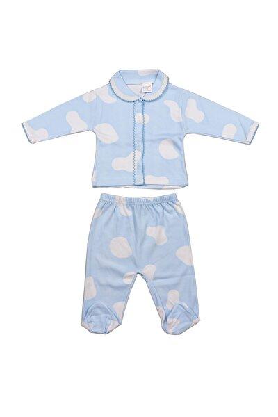 Patikli Bebek Takım Mavi