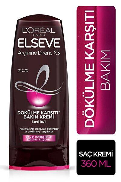 Zayıf Dökülmeye Eğilimli Saçlar İçin Arginine Saç Kremi 360 ml