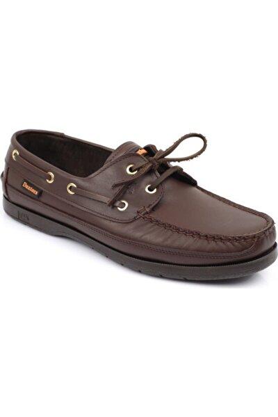 Hakiki Deri Erkek Kahverengi Casual Ayakkabı DXSWMN8150007