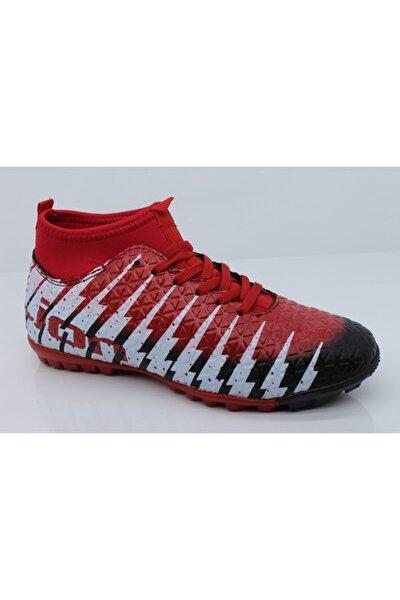 Erkek Kırmızı Halı Saha Ayakkabısı 1452