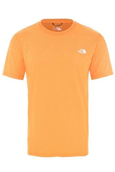 Reaxion Crew Erkek T-shirt Turuncu