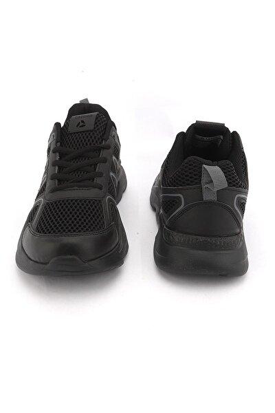 Erkek Siyah Spor Ayakkabı 2079