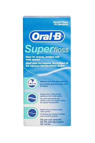 Oral B Superfloss Diş Ipi