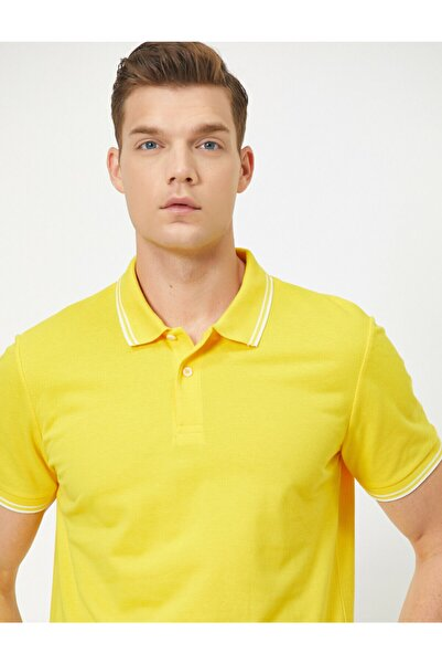 Erkek Sarı T-Shirt 0YAM11203LK
