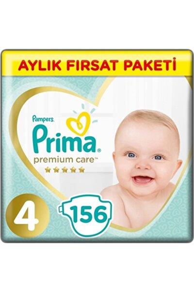 Bebek Bezi Premium Care 4 Numara 9-14 Kg 156