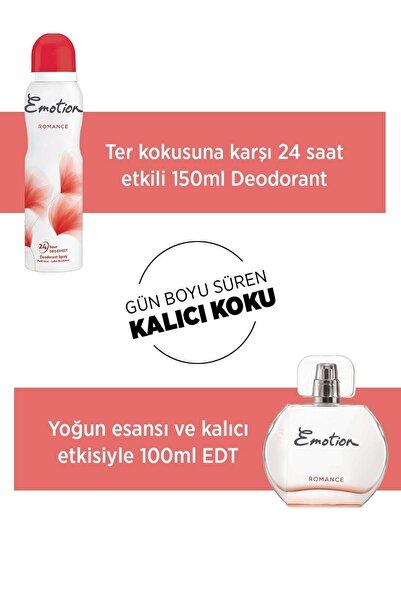 Romance Edt 50 ml + 150 ml Deodorant Kadın Parfüm Seti