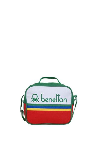 Unisex Benetton Tek Bölme Beslenme Çantası 70036