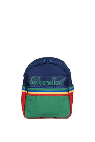 Unisex Benetton Iki Bölmeli Anaokul Çantası 70040