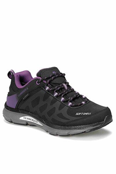 Siyah Mor Kadın Outdoor Ayakkabı