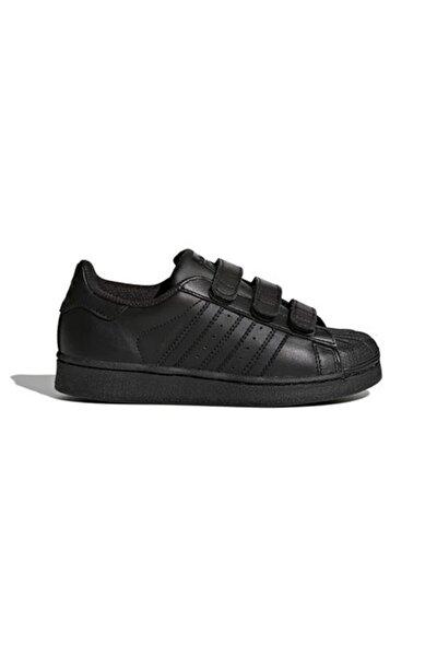 SUPERSTAR FOUNDATION CF C Siyah Erkek Çocuk Kalın Tabanlı Sneaker 100662666
