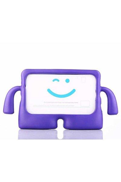 "Galaxy Tab E Sm-t560 9.6"" Kılıf Yumuşak Dokulu Standlı Silikon Kids + Nano Cam"