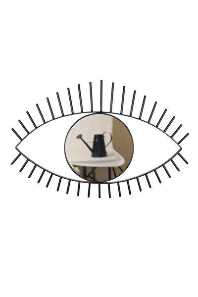Göz Ayna Metal Çerçeveli Küçük