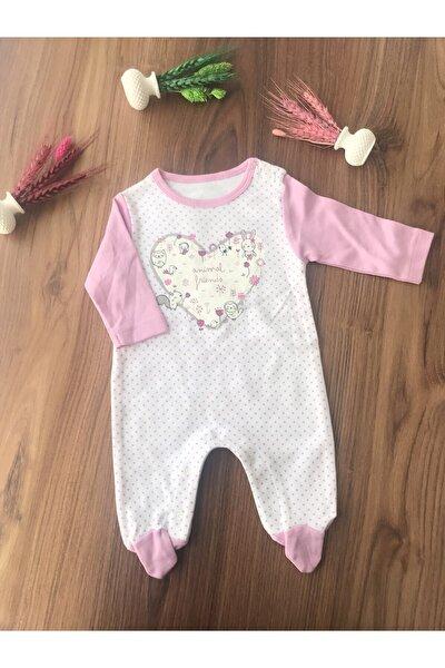 Kız Bebek Pembe Patikli Tulum