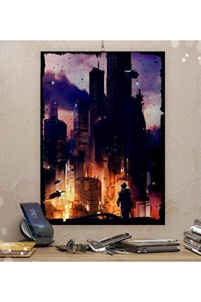 Halo Gamer Tasarım 21x30cm Hediyelik Dekoratif 8mm Ahşap Tablo