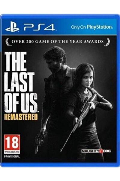 Ps4 The Last Of Us - Orjinal Oyun - Sıfır Jelatin