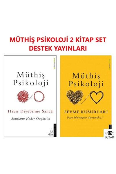 Müthiş Psikoloji 2 Kitap Set Hayır Diyebilme Sanatı Sevme Kusurları