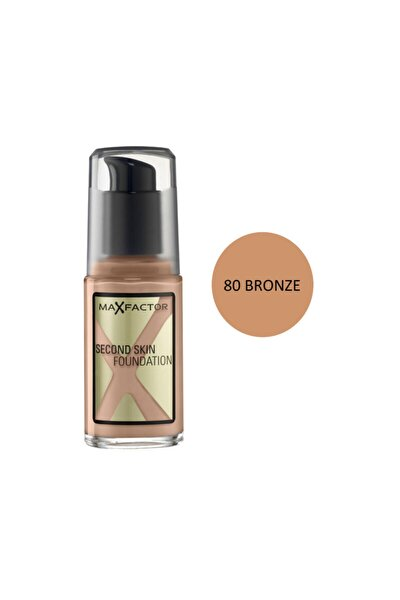 Second Skin Fondöten 80 Bronze