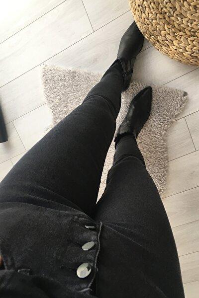 Kadın Gri Jeans