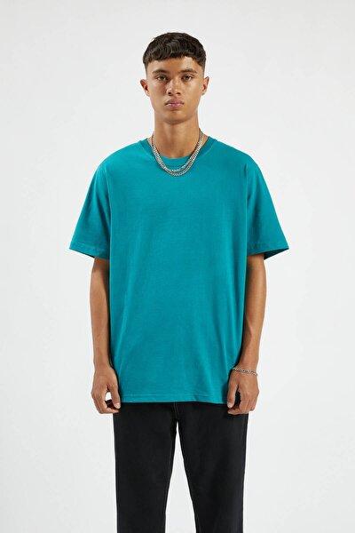 Erkek Orta Yeşil Join Life Basic T-Shirt 09244500