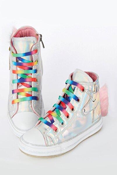 Unicorn Hologramlı Kız Sneakers