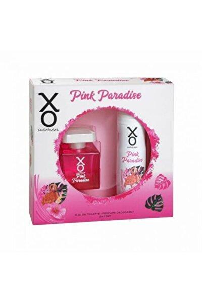 Pink Paradise Eau De Toılette 100ml Kadın Parfüm 125 ml Deodorant