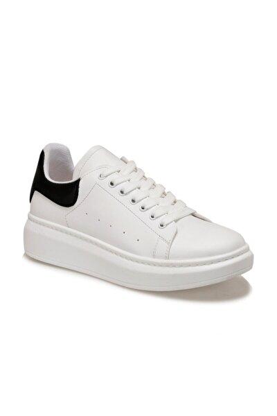 ADELİTAS Beyaz Kadın Havuz Taban Sneaker 100583019