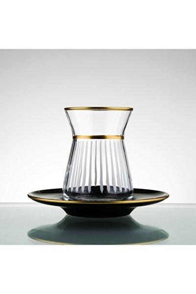 El Yapımı Çay Seti 12 Parça 6 Kişilik