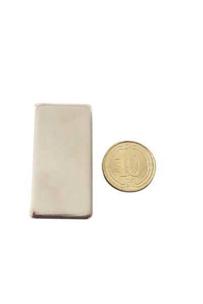 Neodyum Mıknatıs 40x20x10 mm  2 Adet