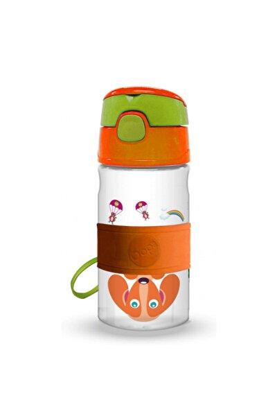 Unisex Çocuk Pipetli Suluk 400 ml