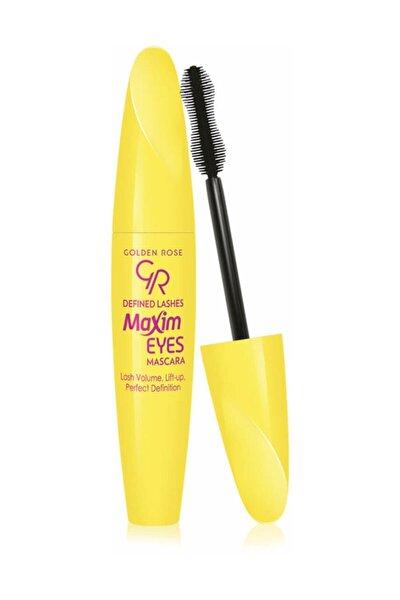 Siyah Maskara - Defined Lashes Maxim Eyes Mascara 8691190068653