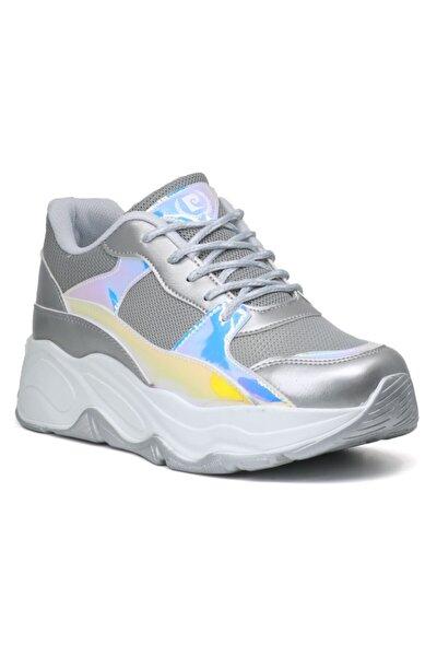30061 Yüksek Taban Kadın Spor Ayakkabı