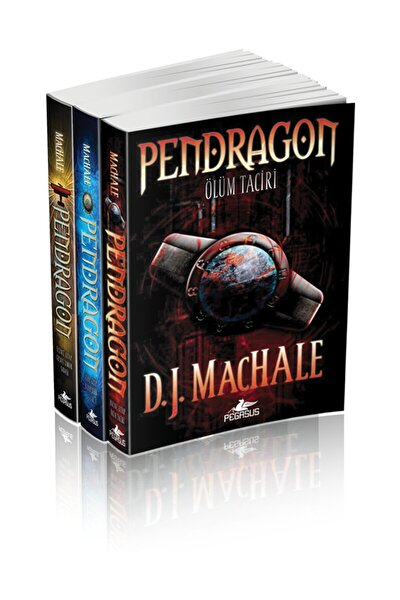 Pendragon Serisi Takım Set (3 Kitap) - D. J. Machale