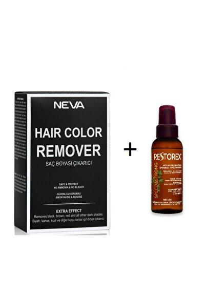 Remover Saç Boya Çıkarıcı+restorex Bakım Yağı 100 Ml