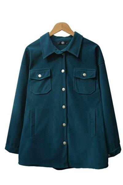 Mevsimlik Kadife Ceket