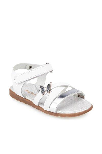 91.511358.B Beyaz Kız Çocuk Sandalet 100368561