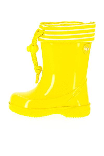 Sarı Kız Çocuk Çizme