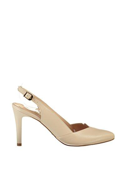 Hakiki Deri Pembe Kadın Topuklu Ayakkabı 120120401010
