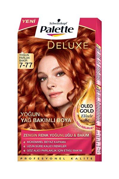 Yoğun Bakır Saç Boyası - Deluxe 7-77  4015000975704