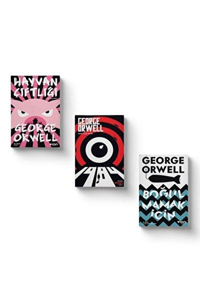 George Orwell Seti - Hayvan Çiftliği - 1984 - Boğulmamak İçin