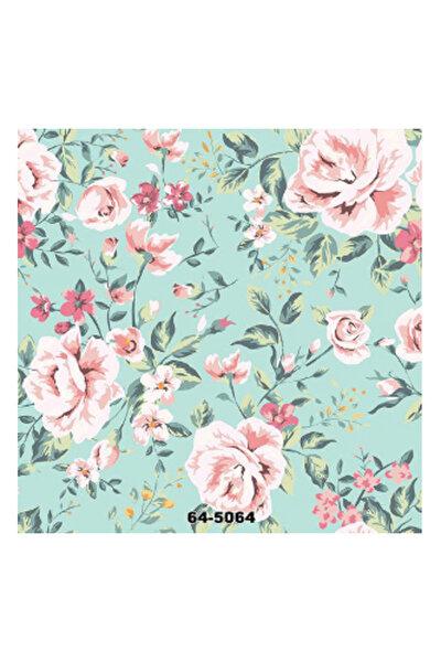 Çiçek Desen Duvar Kağıdı (16 M²) 5064-fc