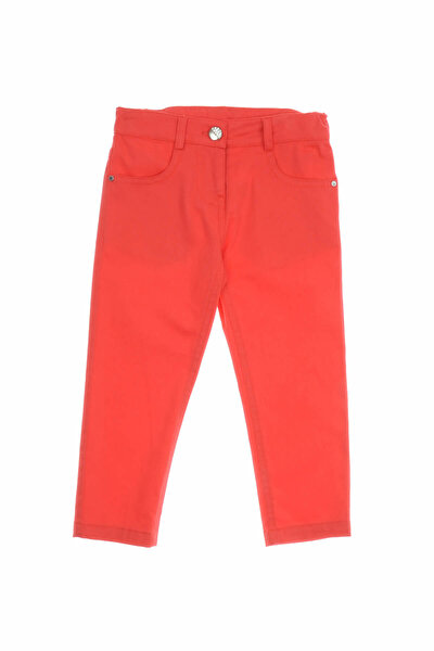 Kırmızı Kız Çocuk Pantolon 1812166100