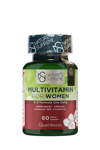 Multivitamin For Women 60 Kapsül