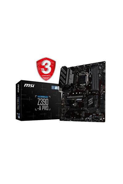 Z390-A PRO Intel Z390 1151 8.Nesil Soket 4400MHz O.C. DDR4 USB Type-C DVI&DP ATX Anakart