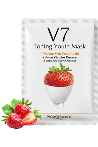 V7 Toning Light Çilekli Sıkılaştırıcı Gençlik Maskesi 30 Gr