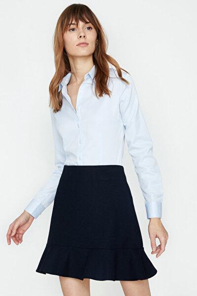 Kadın Mavi Gömlek 9KAK62442YW