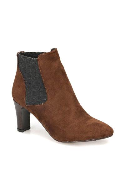 DW18092 Kahverengi Kadın Topuklu Bot 100340758