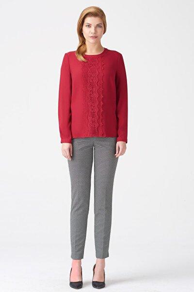 Kadın Koyu Kırmızı Bluz 17K11118Y948
