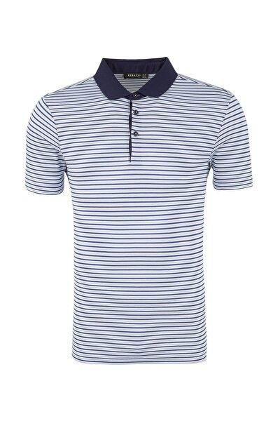 Erkek Mavi T-Shirt - 5911008