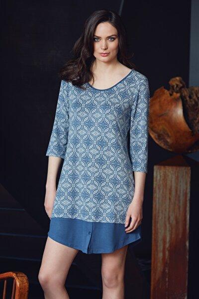 Kadın Indigo Elbise 8041